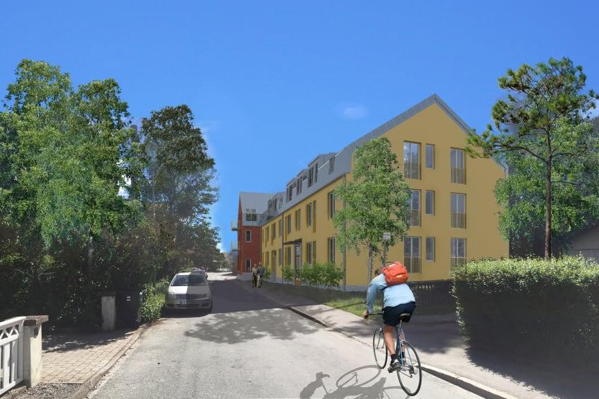 Olovslund, Bromma, Riksbyggen