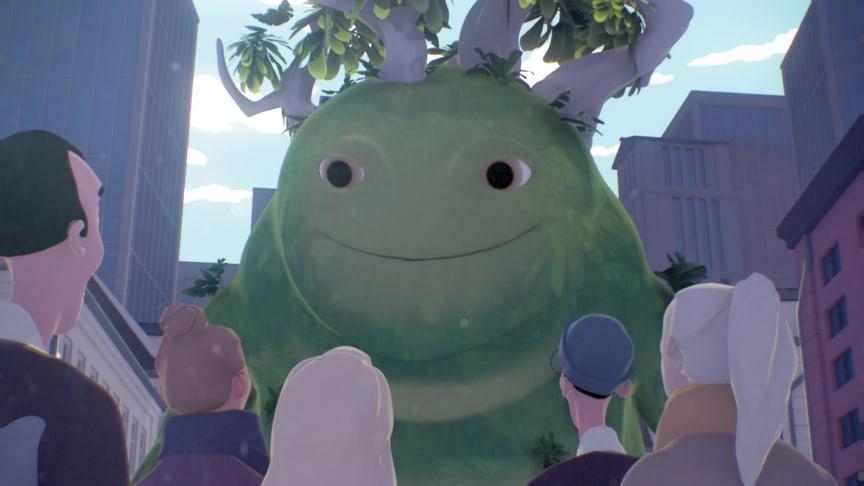 Still-billede fra filmen 'The Green Giant'