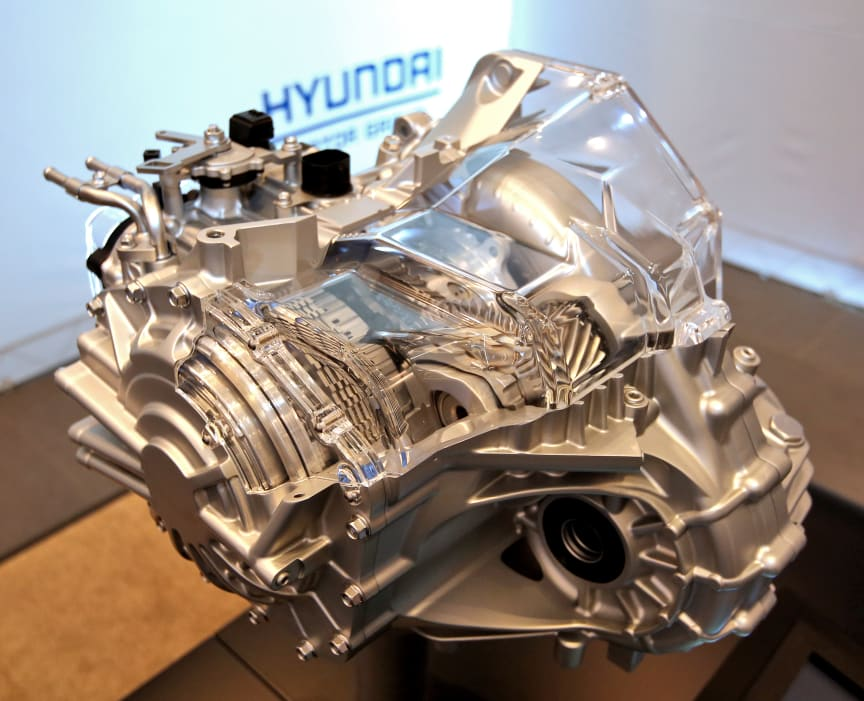 Hyundais nye 8-trinns automatiske girkasse
