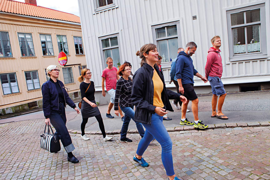 Stadsvandring i Majorna med Sjöfartsmuseet Akvariet