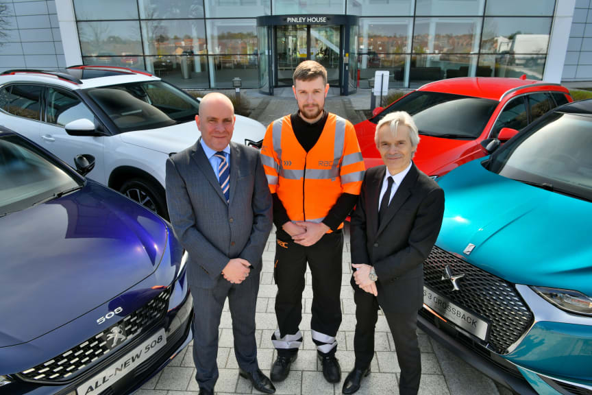 RAC and Groupe PSA - Phil Ryan, Josh French and Richard Dyson