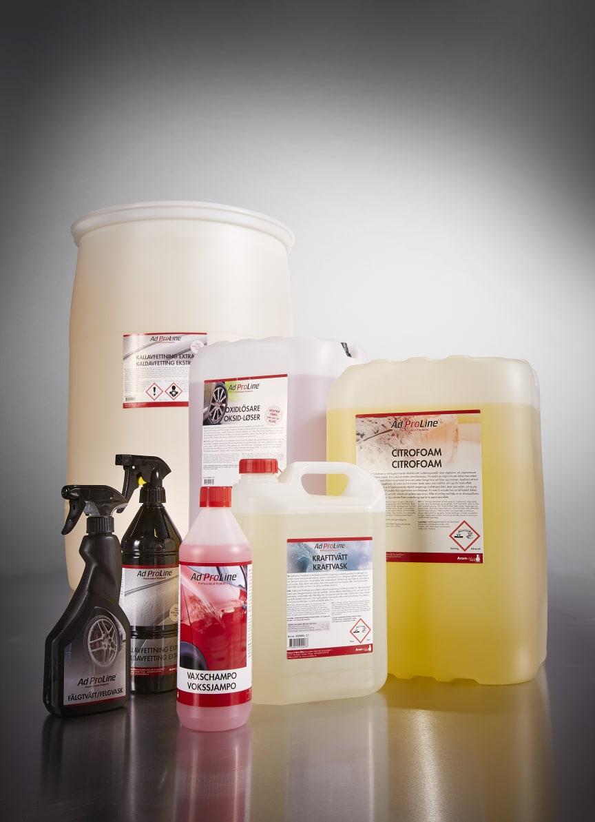 Arom-dekor Kemi, AdProLine® Tvätt & Avfettning