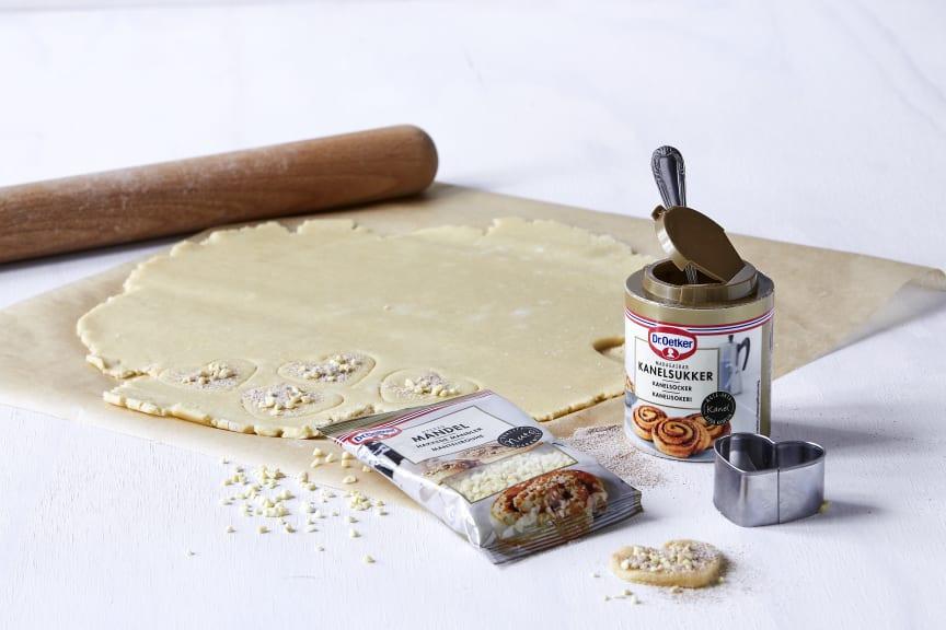 Joedekager med kanelsukker