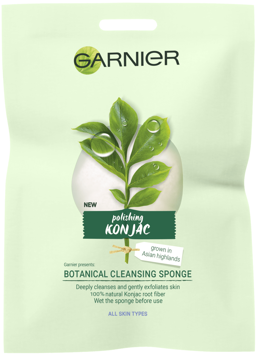 Garnier BIO Konjac-ihonpuhdistussieni