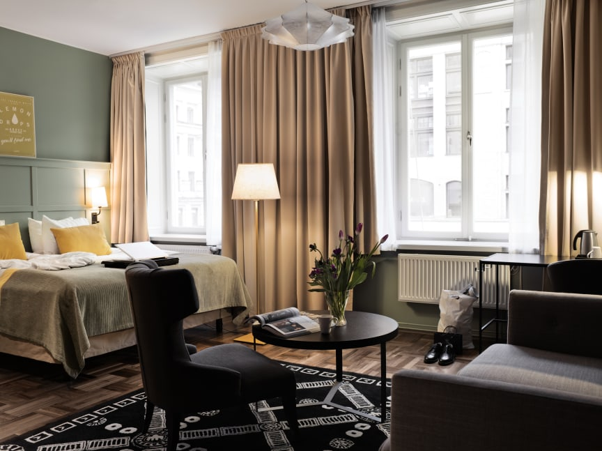 Scandic Grand Central Family Superior room