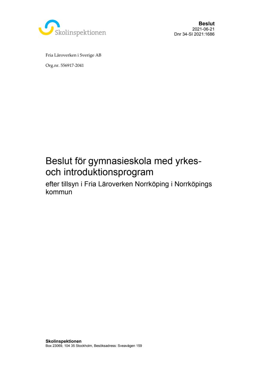 Beslut riktad tillsyn Fria Läroverken Norrköping.pdf