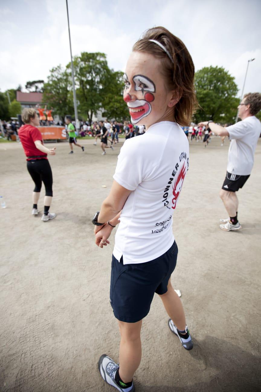 GöteborgsVarvet har under 2011 och 2012 samlat in totalt 2,6 miljon kronor till välgörenhet.