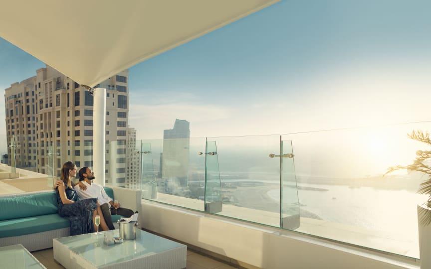 Roof terrace in Dubai / UAE