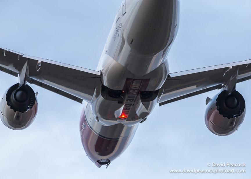 787 Dreamliner. Foto David Charles Peacock