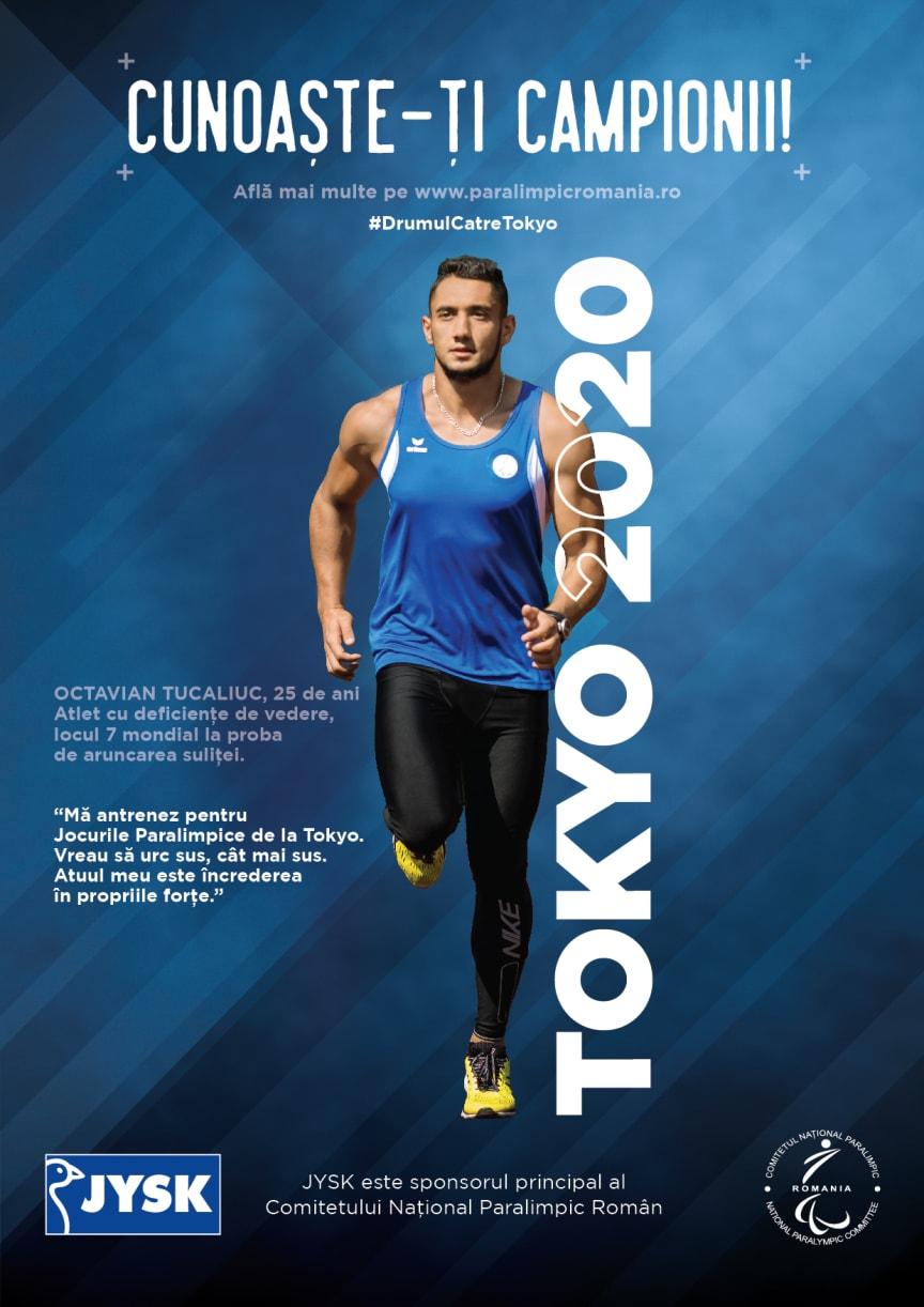 Campania Cunoaste-ti Campionii, desfasurata alaturi de Comitetul National Paralimpic Roman