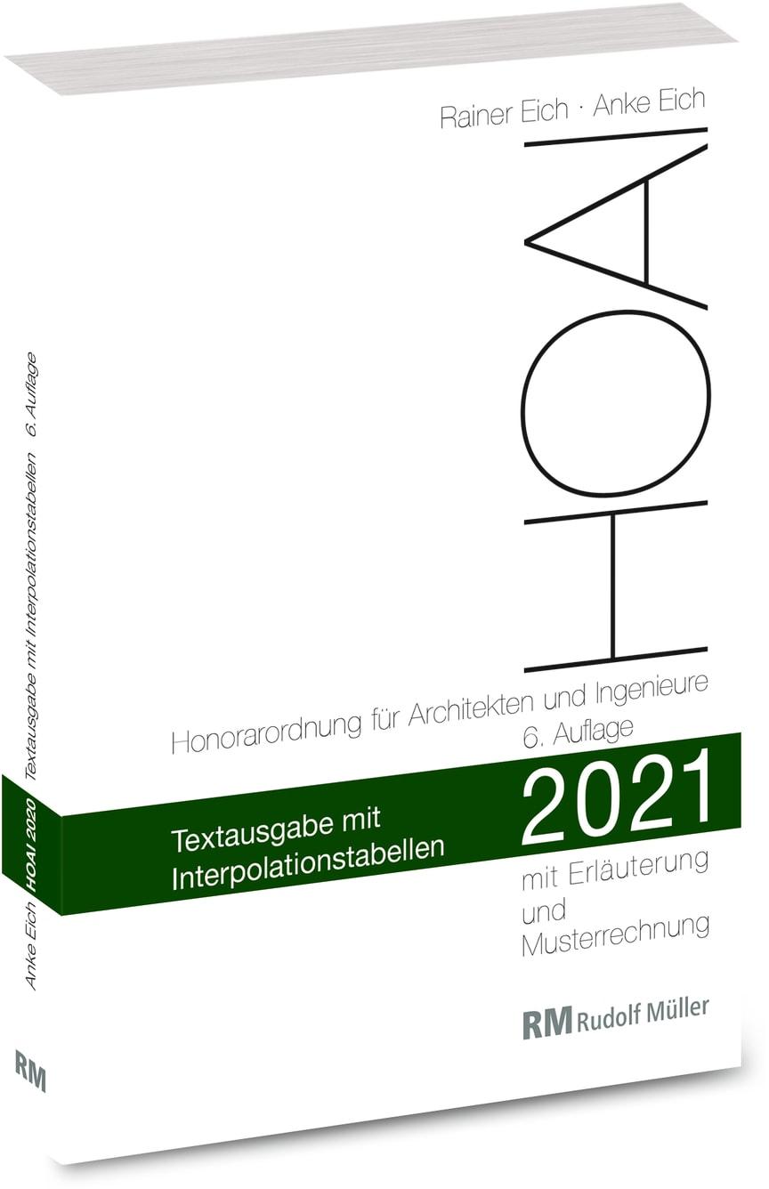 HOAI 2021 – Textausgabe mit Interpolationstabellen (3D/tif)