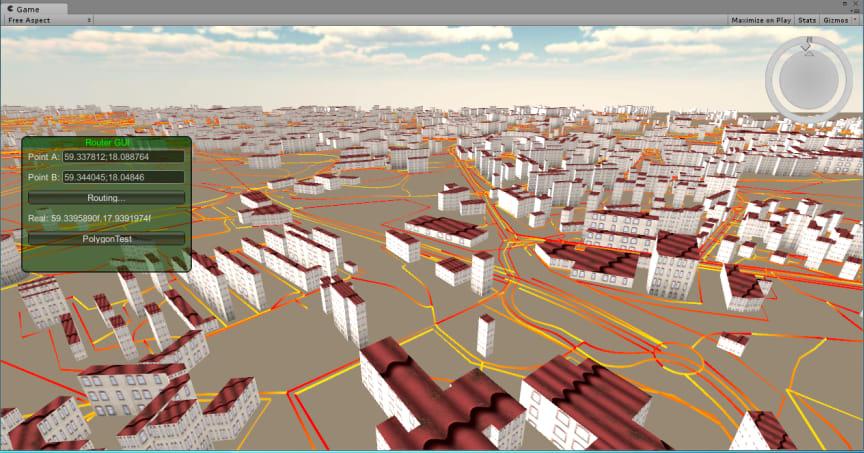 Så här ser spel och simulering se ut när det kommer till trafik.