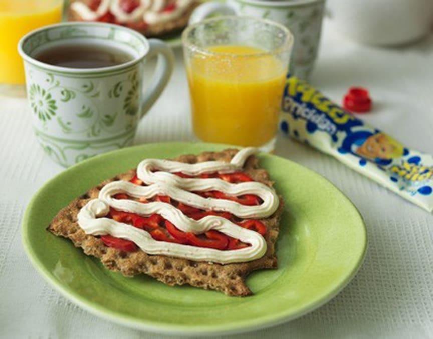 Kalles Prickiga till frukost