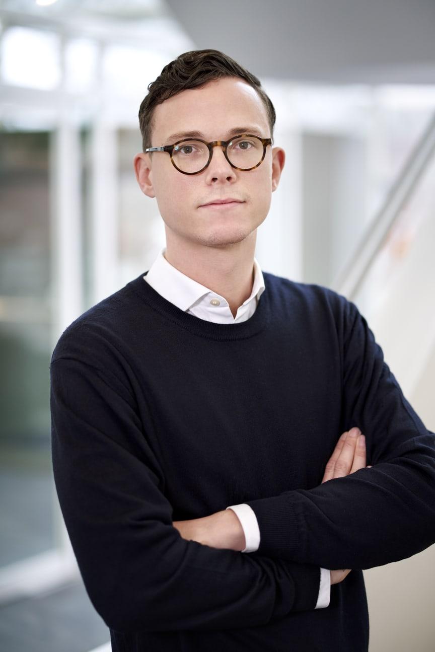 Nicolai Hofsø, direktør for FinTech, Visma e-conomic