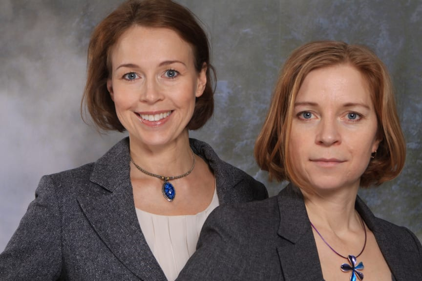 Anna Borgeryd och Karin Bodin