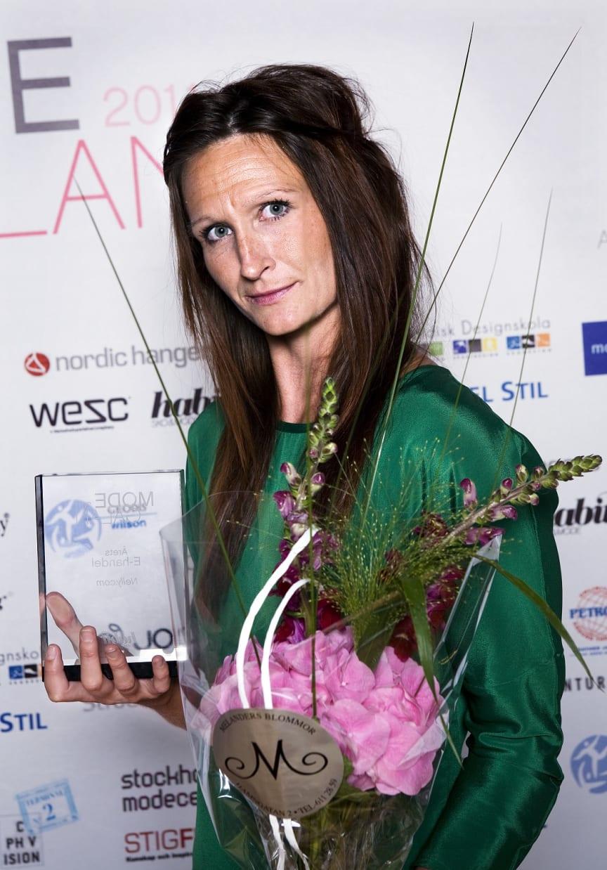 Vinnare Årets E-handel, Modegalan 2011