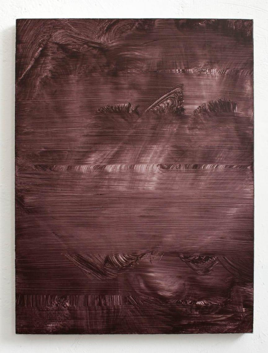 Jacob Ojanen, Untitled, Acrylic on canvas, 60x45 cm, 2019