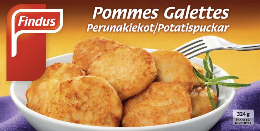 Findus Pommes Galettes Perunakiekko 324 g