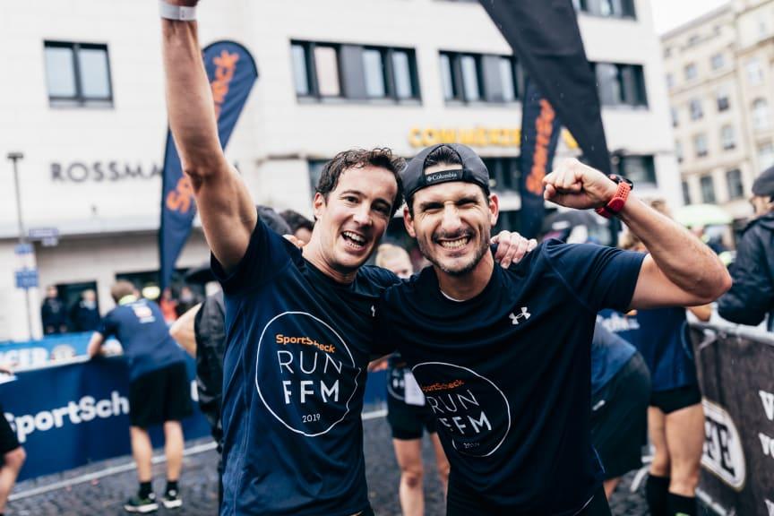 Eindrücke vom SportScheck RUN in Frankfurt 2019