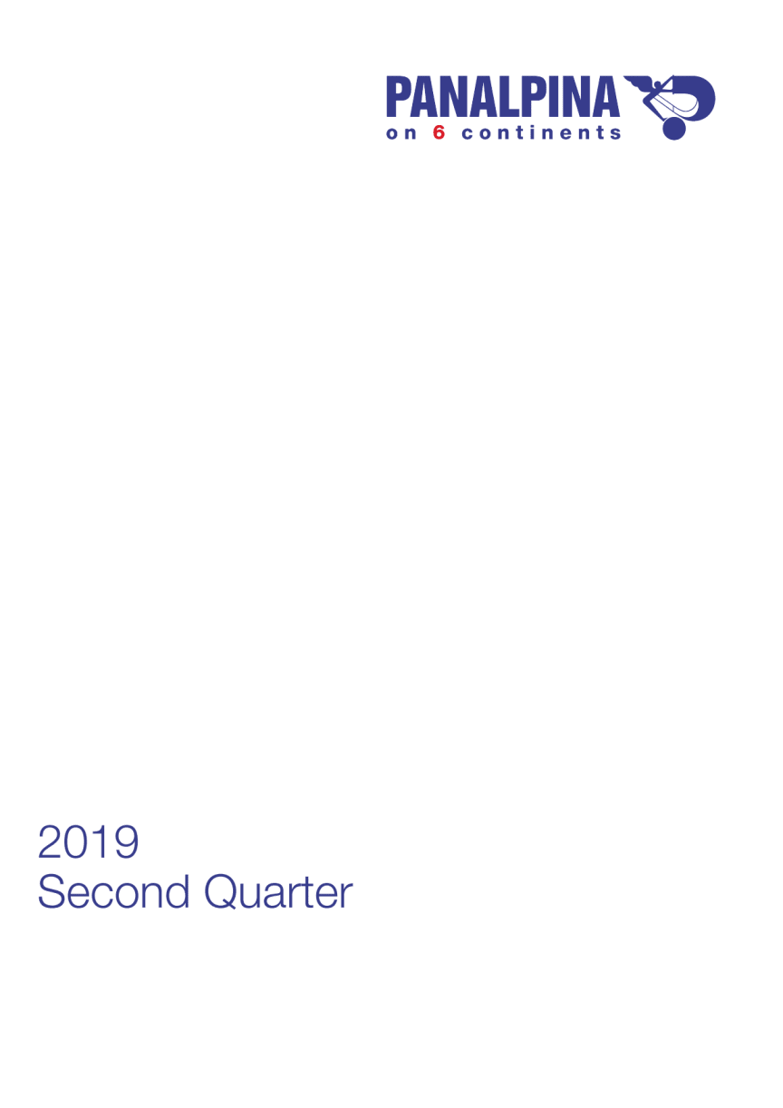 Half-year Results 2019 – Consolidated Financial Statements