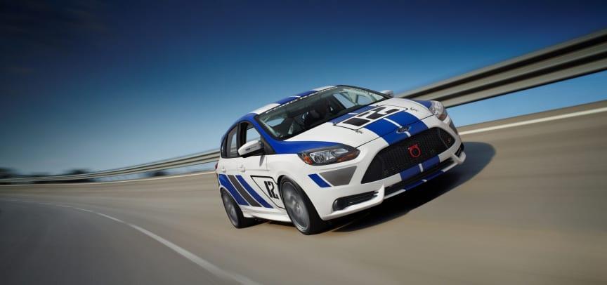 Fords nye racerbil - Focus ST-R
