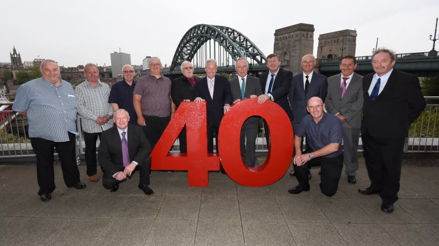 The 40-year award winners