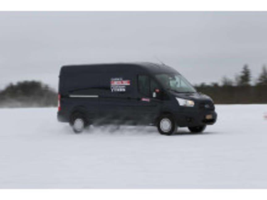 Arctic Van test i Nord-Finland
