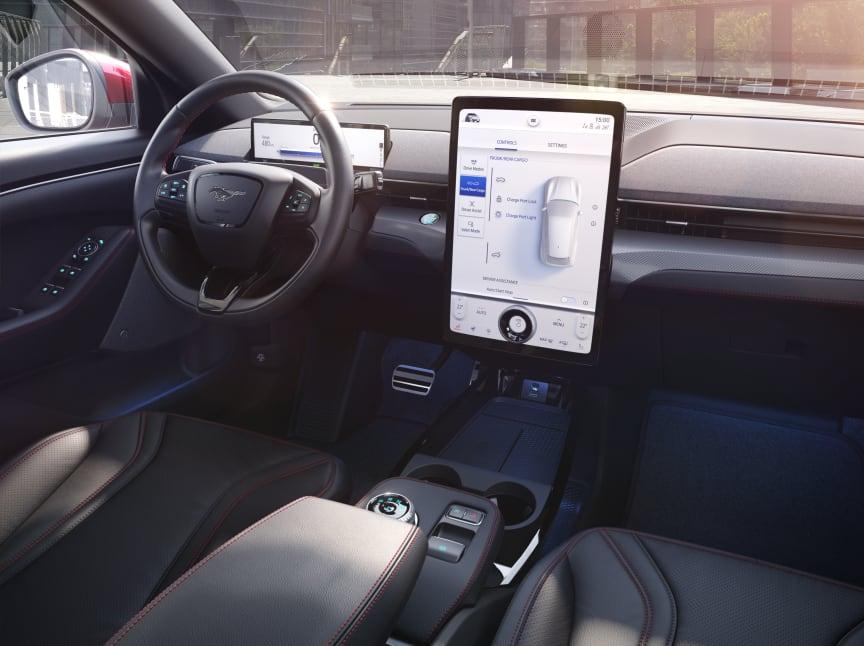 Ford Mustang Mach-E interior 1