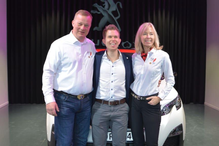 Godt samarbeid Peugeot og Lions Røde Fjær 2020