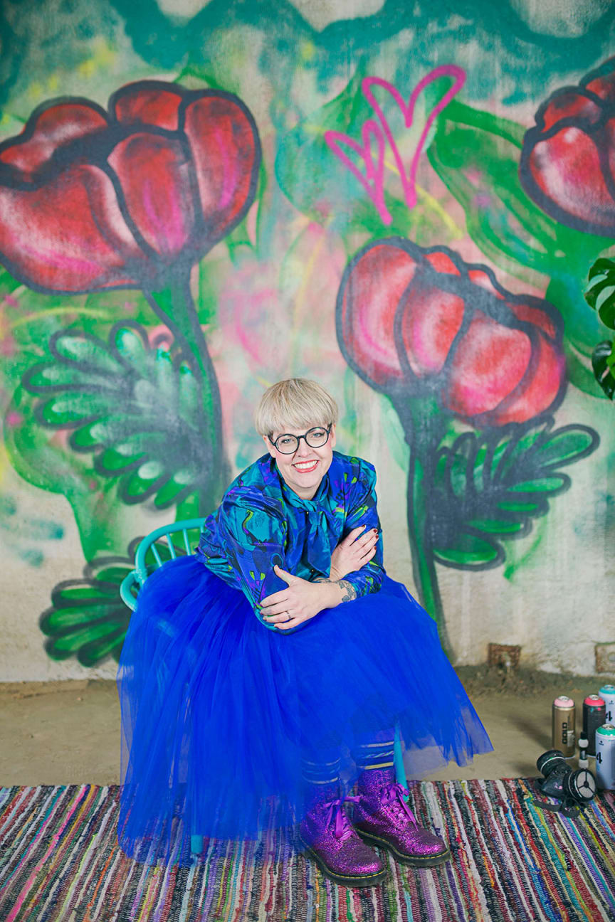 Porträttbild Caroline Malmsjö RGB
