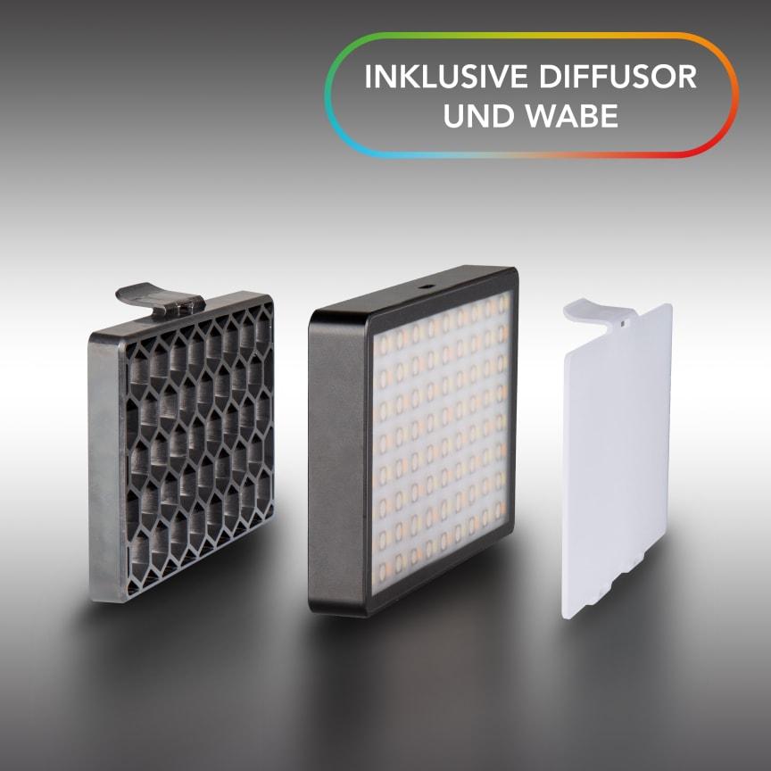 Walimex pro Rainbow Pocket RGBWW 23036 02 Lichtformer