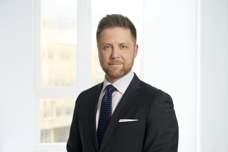 Erik Björhäll, CEO System Verification Sweden