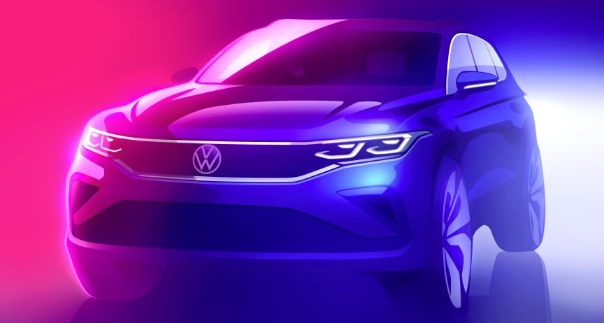 Tiguan II facelift 2020