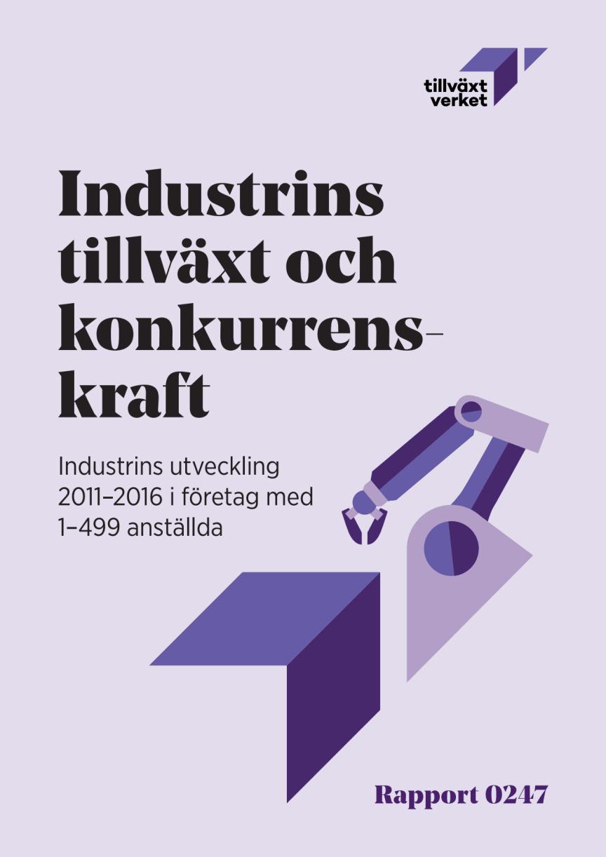 Rapport - Industrins tillväxt och konkurrenskraft