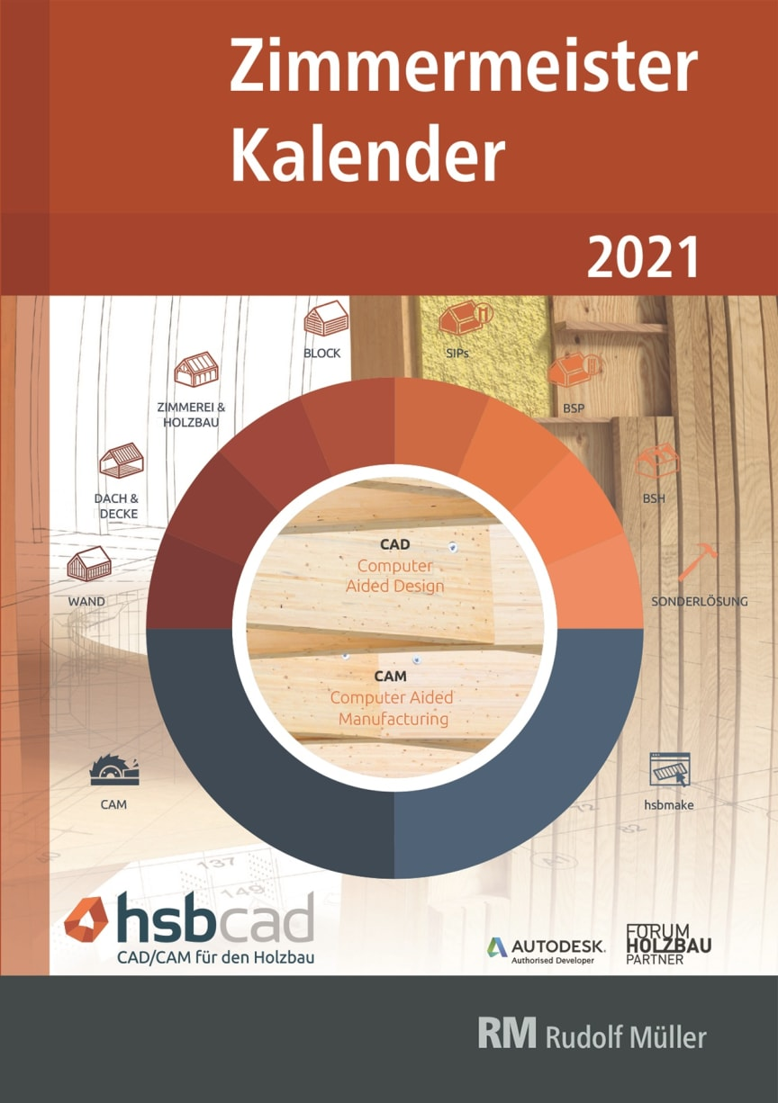 Zimmermeister Kalender 2021