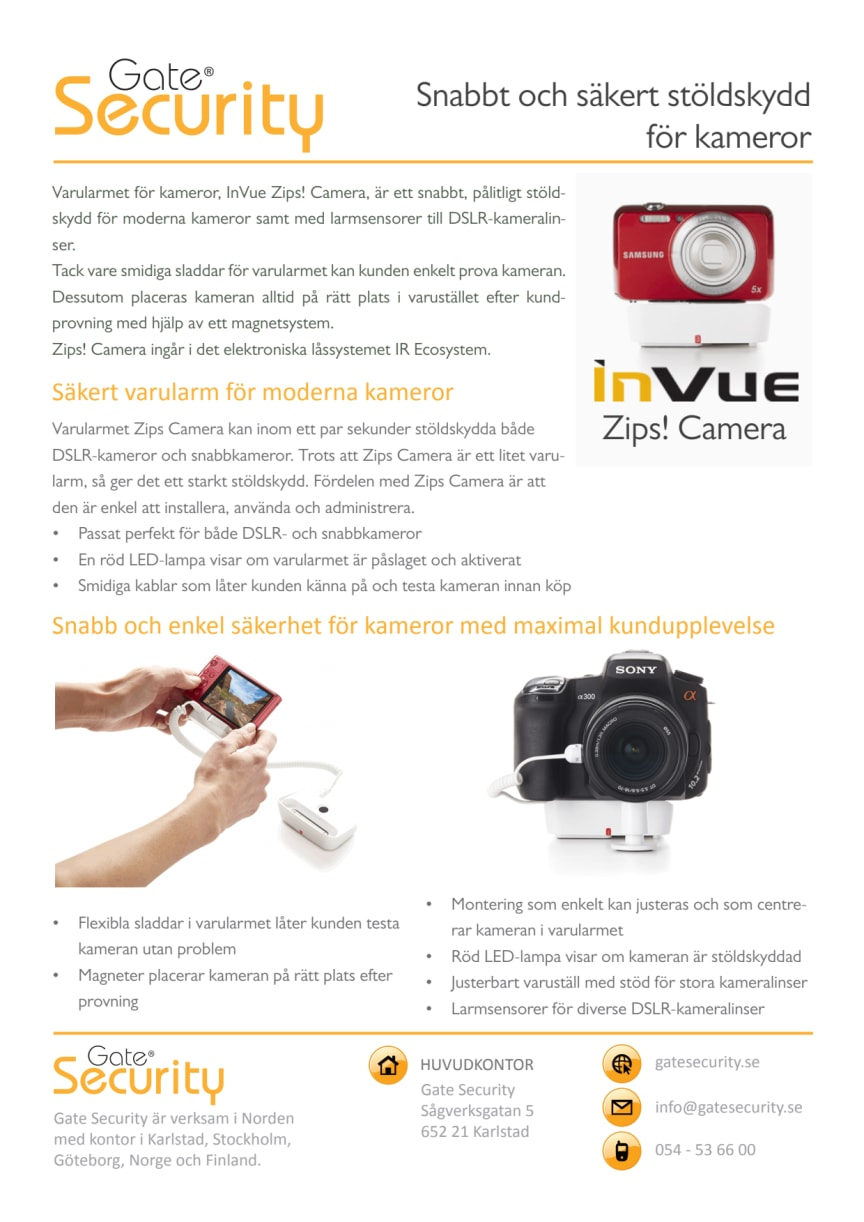 PDF: Snabbt och säkert stöldskydd för kameror