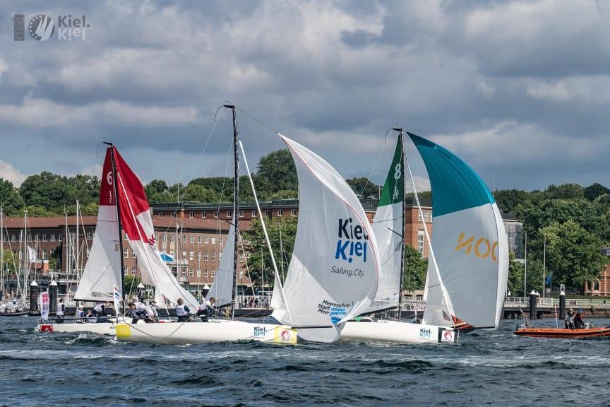 Sailing Champions League hautnah erleben auf Innenförde (c)Lars Wehrmann SCL