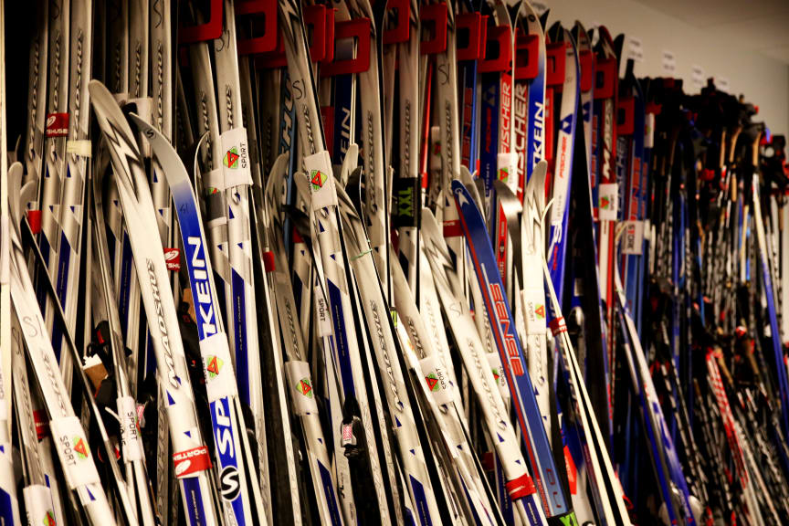 Skiutstyr fra SiO Athletica