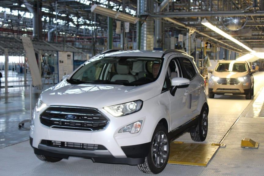 Produktionsstart på ny Ford EcoSport