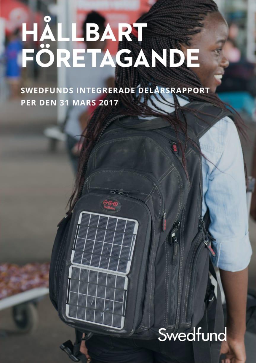 Swedfunds integrerade delårsrapport jan-mars 2017