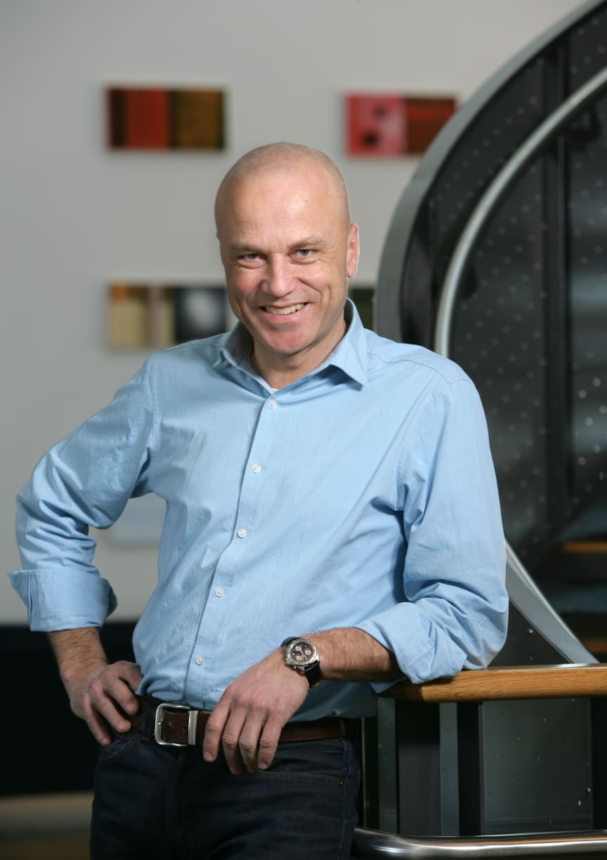 Konsernsjef Erik Espeset