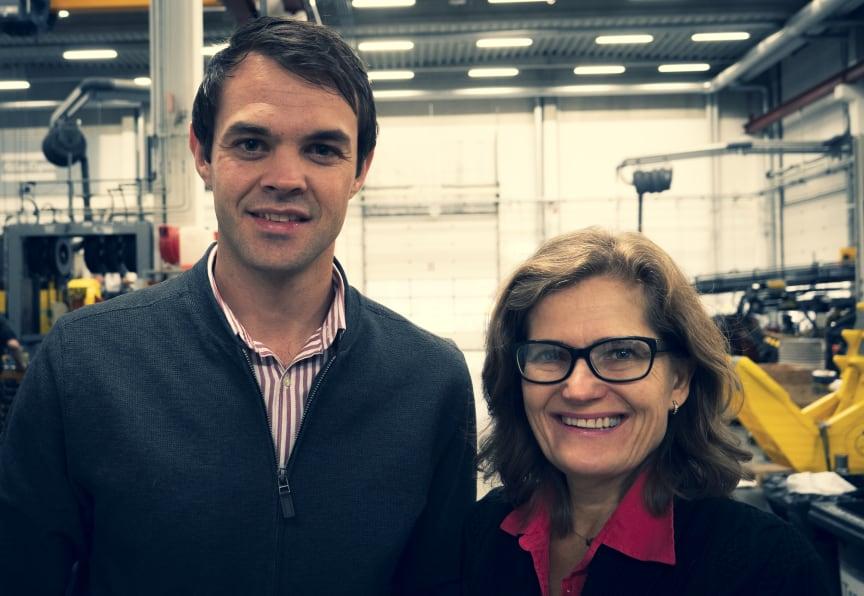 Dirk Venter och Petra Kastensson lanserar New Concept Mining