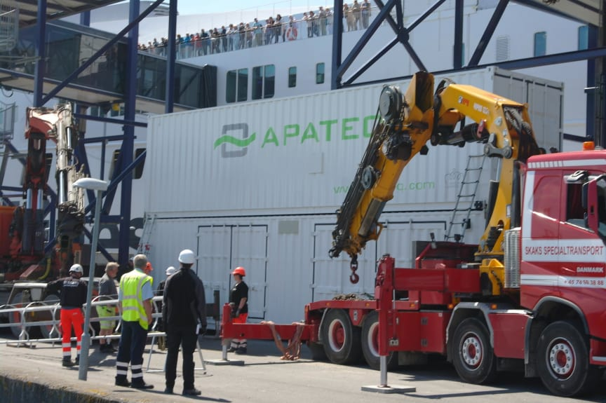 APATEQ_MarinePaq installation for Scandlines