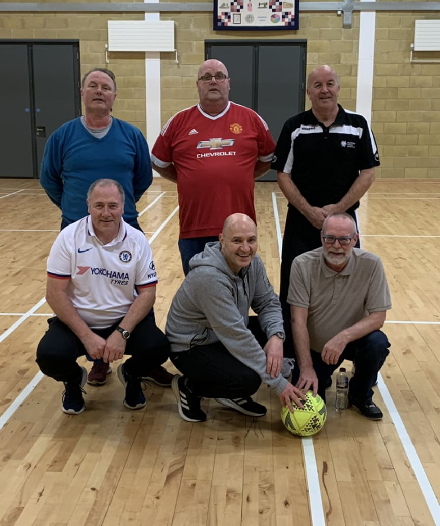Walking football Week One Pic
