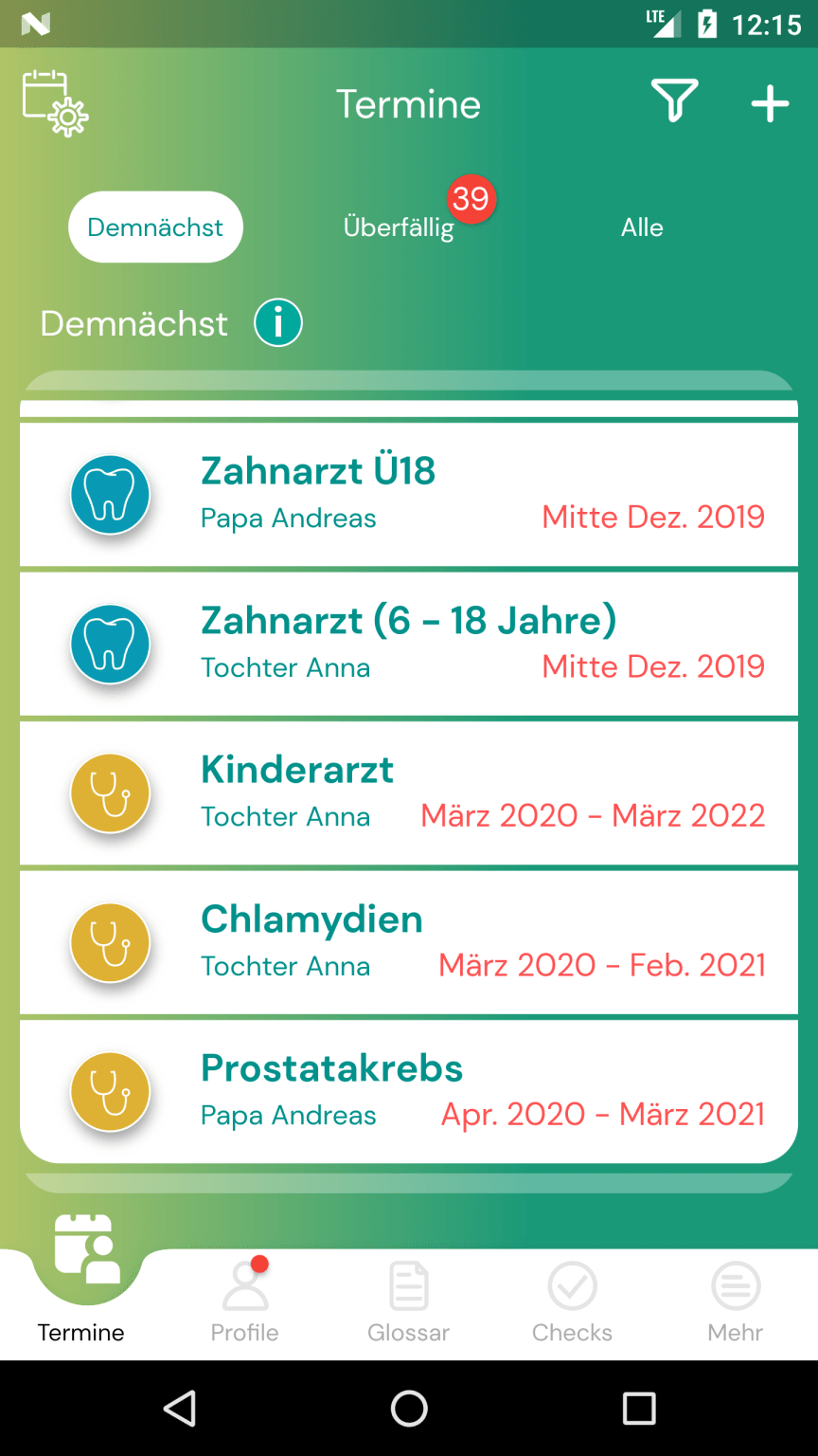 APPzumARZT_Android_Screenshot_TermineDemnächst.png