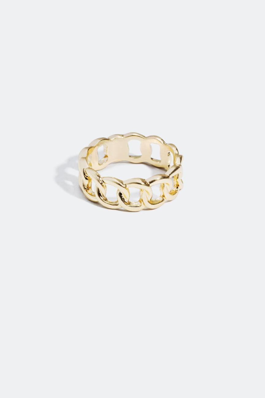 Kedjeformad ring