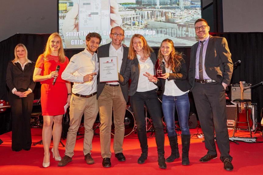 Preisverleihung 'Brandschutz des Jahres' 2017 - Gewinner Kategorie 'Organisatorischer Brandschutz'