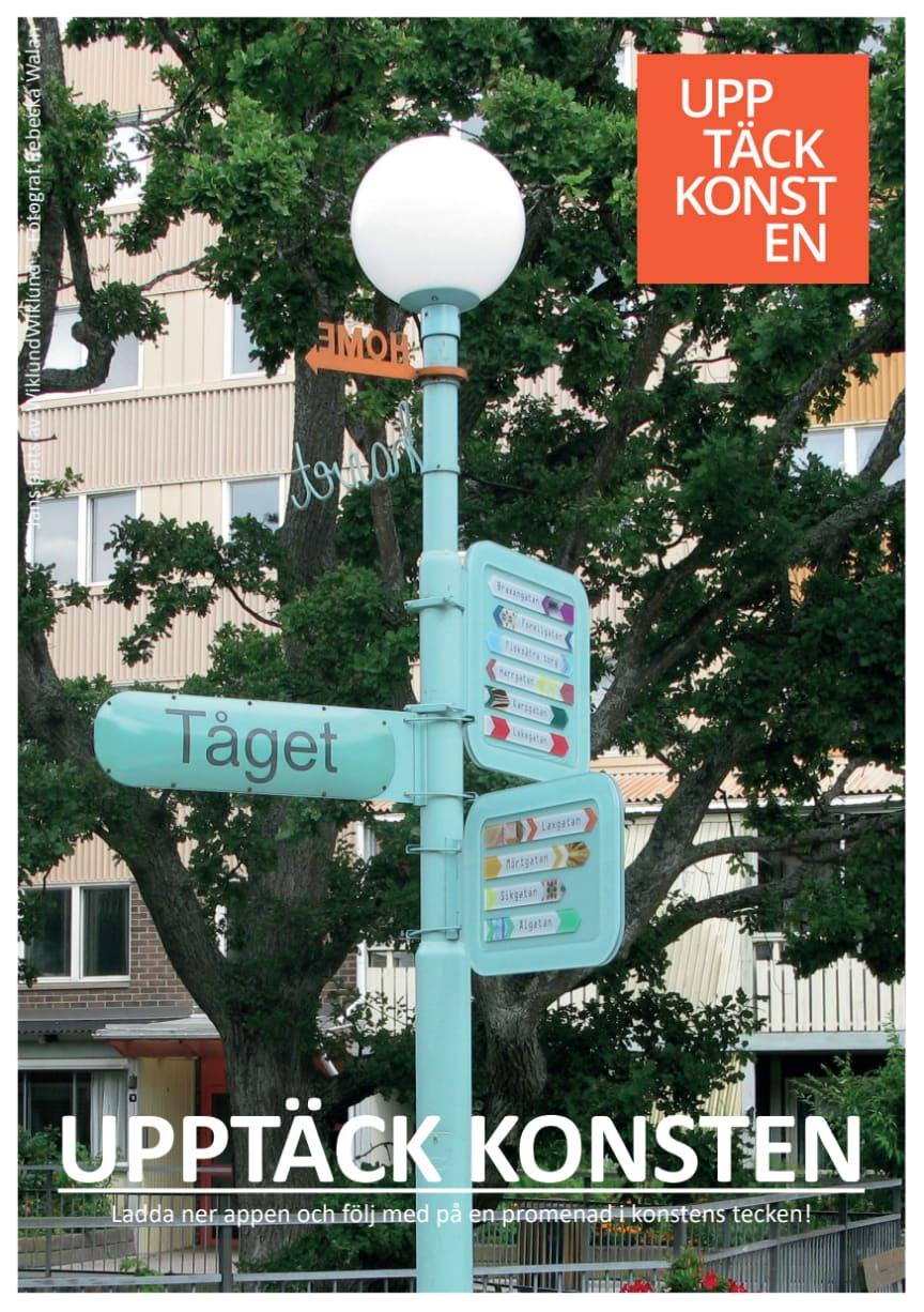 Invigning av appen Upptäck konsten i Nacka den 25/9 kl 18.00 på biblioteket i Fisksätra