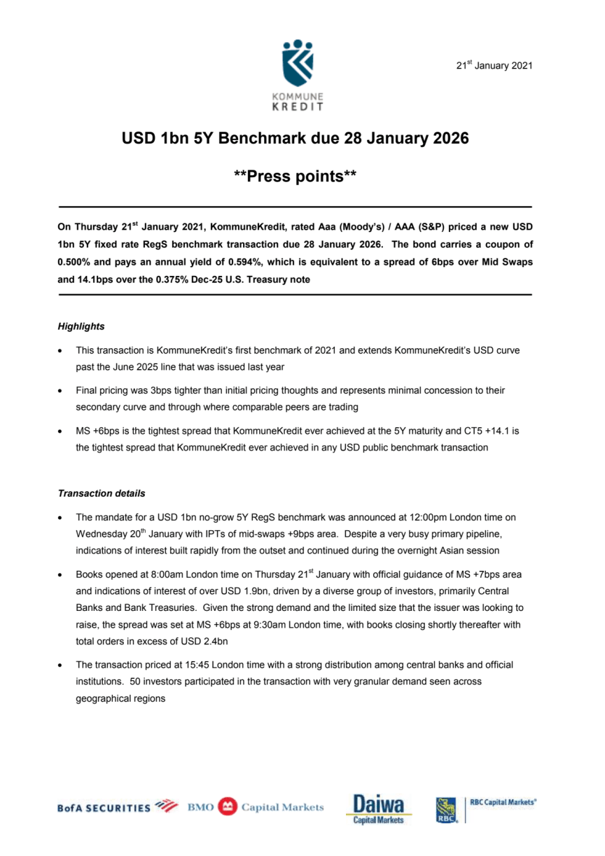 Press Points 5Y_January 2021