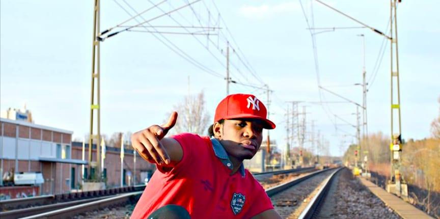 Rapparen Rashy K (Rashid Kibridge)